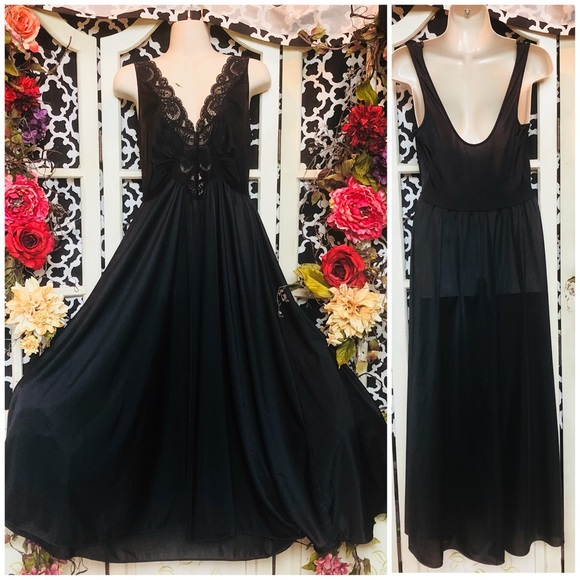 Olga Dresses | Vintage Night Gown Dress Witch Gothic | Poshmark